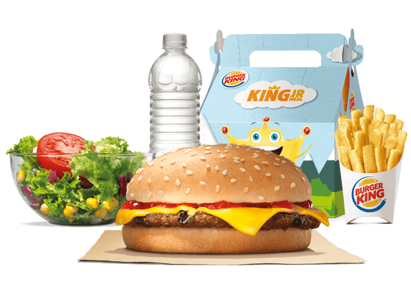 King Jr™ Cheeseburger