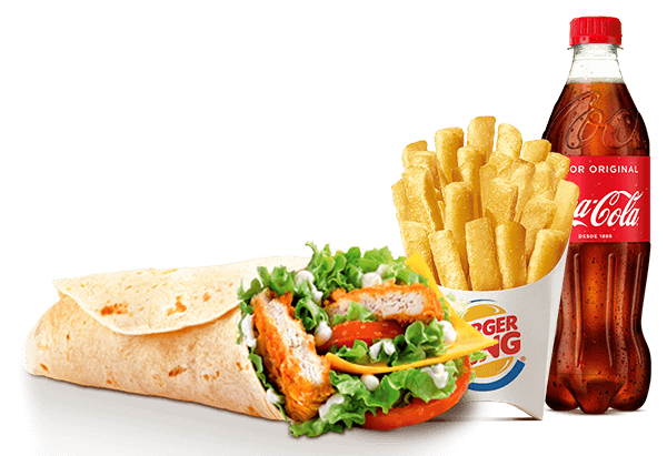 Menú Chicken® Wrap