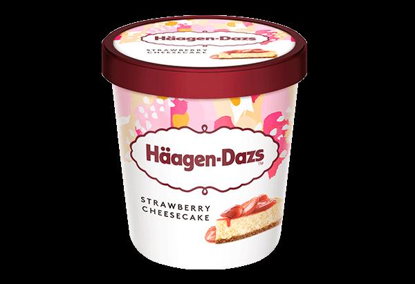 Häagen Dazs - Strawberry Cheesecake (460ml)