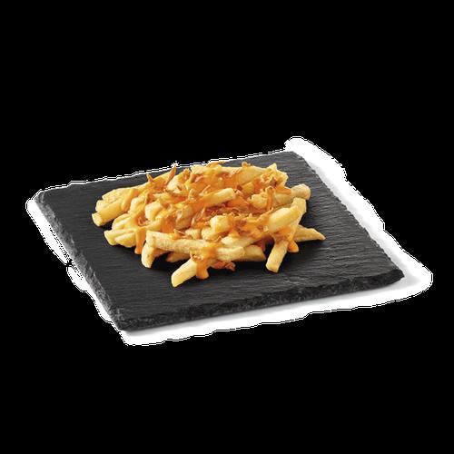 King Fries (+ Cheddar + Cebola)