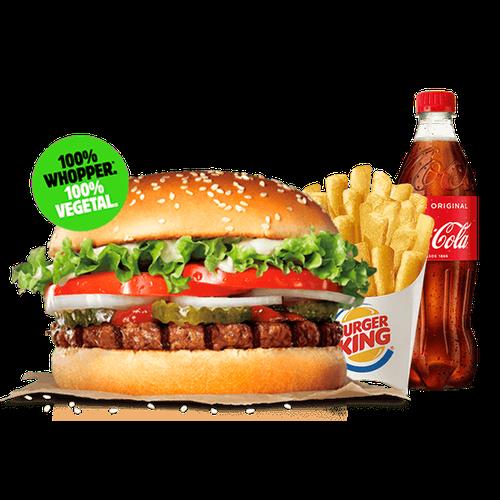 Menu Whopper® Vegetal