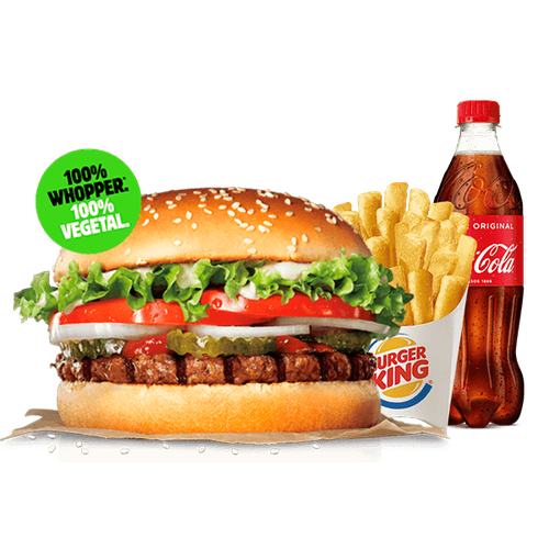 Menú Whopper® Vegetal