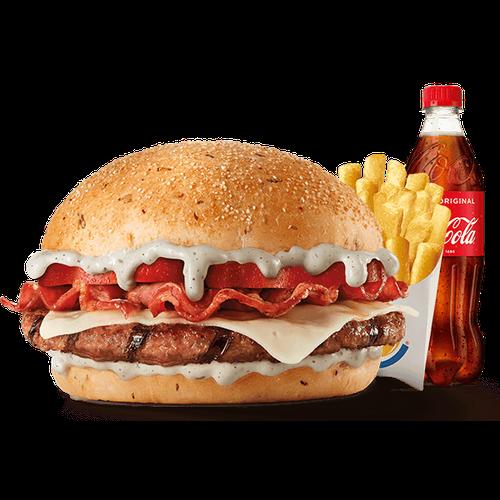 Menu Blue Burger (1 Carne)
