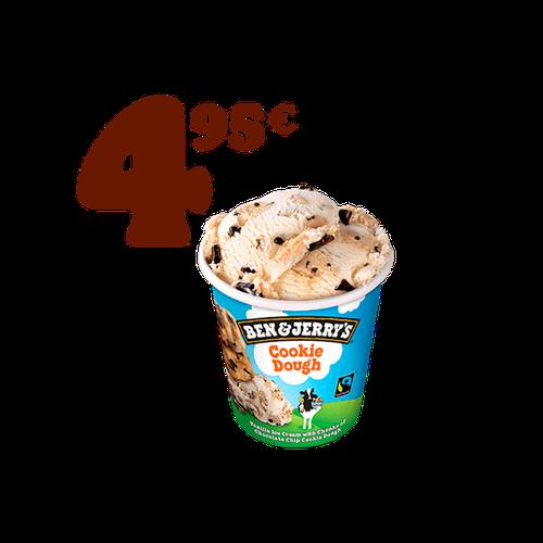 Promo Ben & Jerry,s Cookie Dough