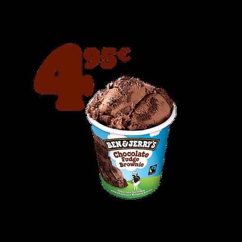 Promo Ben & Jerry,s Chocolate Fudge