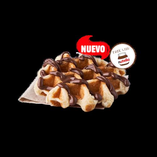 Gofre con Nutella®