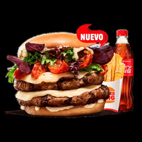 Menú King Selection - Tomate seco & Formaggio