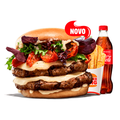 Menu King Selection - Tomate seco & Formaggio