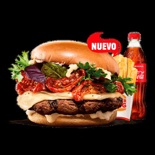 Menú King Selection - Tomate seco & Formaggio (1 Carne)