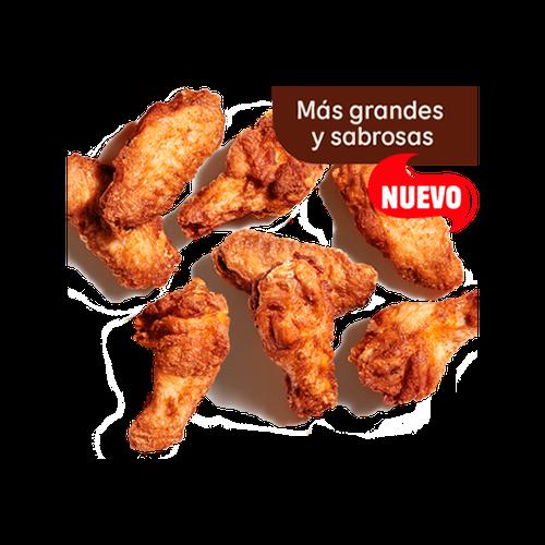 Alitas de pollo x8
