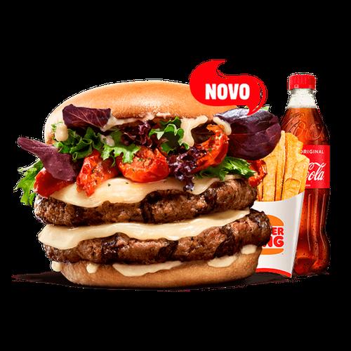 Menu King Selection - Provolone & Tomate Seco