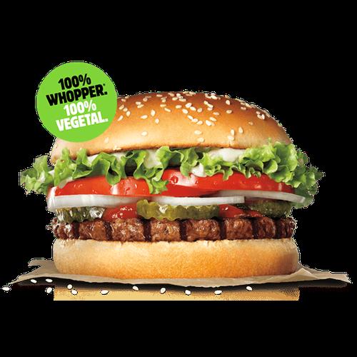 Whopper® Vegetal al 50% de descuento