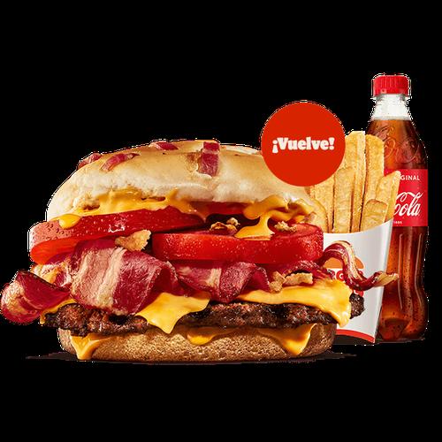 Menú Duo Bacon Cheddar (1 Carne)