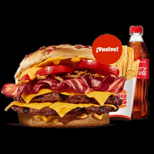 Menú Duo Bacon Cheddar