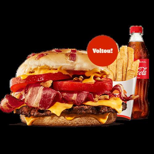 Menu Duo Bacon Cheddar (1 Carne)